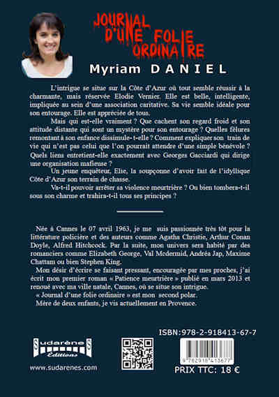 Photo  du livre: Journal d'une folie ordinaire par Myriam Daniel