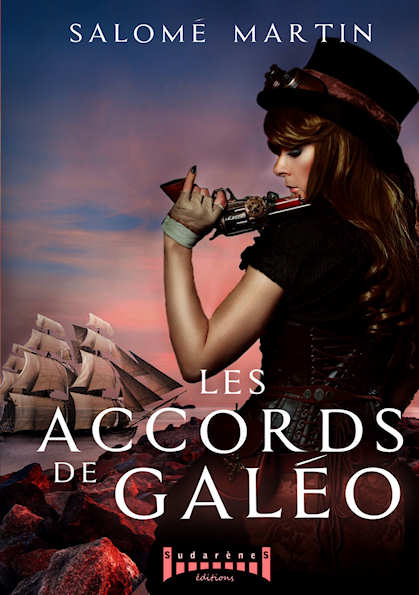 Photo  du livre: Les accords de Galéo par Salomé Martin